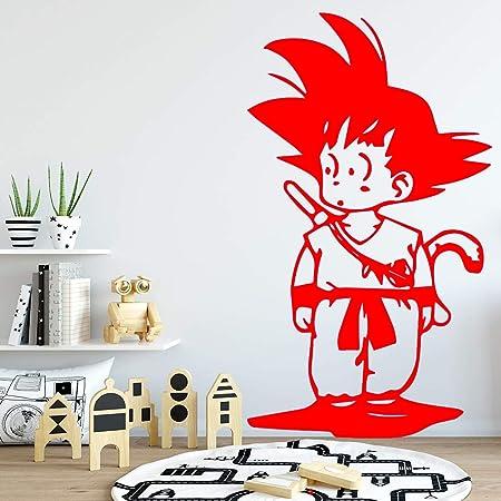 guijiumai Son Goku Dragonball Adhesivo de Pared Decoración para el ...
