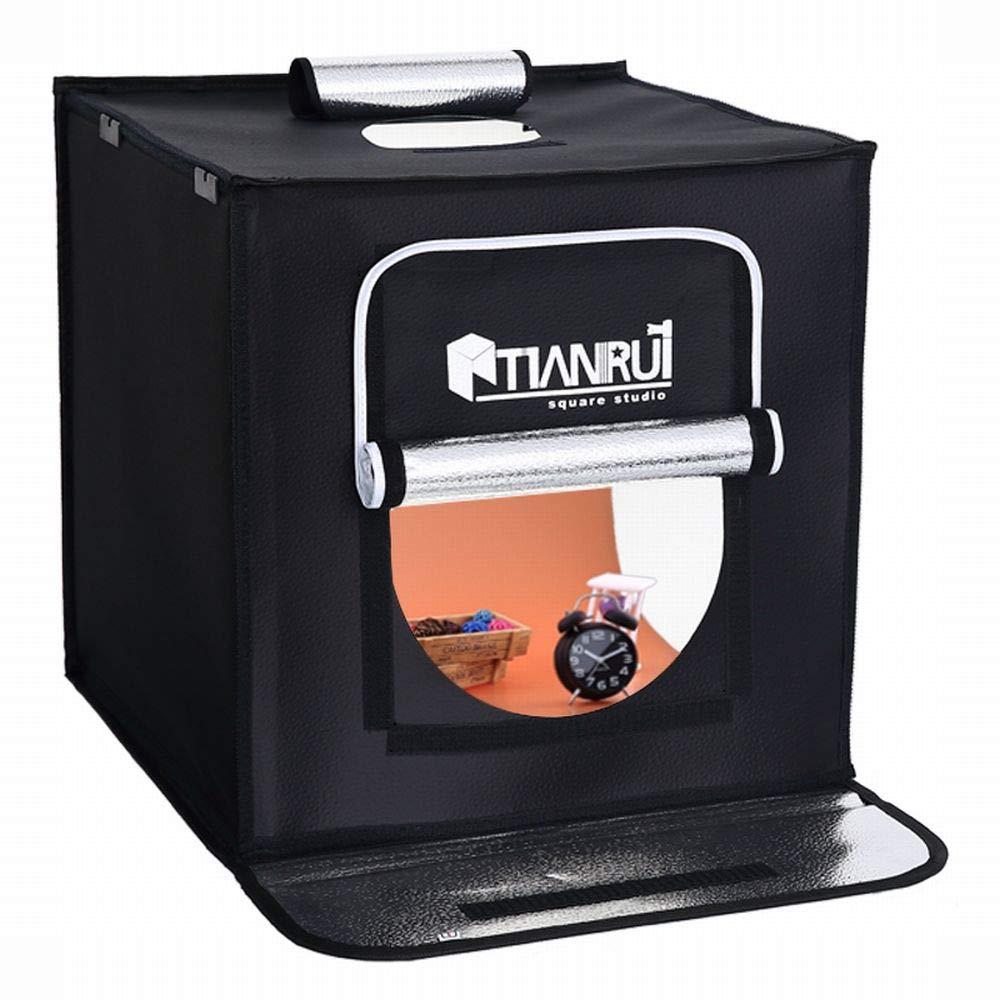 LED 調光機能 40cm 撮影スタジオ 撮影ボックス 撮影ブース 折畳み スタジオ (40×40) 40×40  B07NH7TL5J