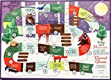 Trader Joe's 2017 Advent Calendar - 24 Chocolates ADVENTure Board Game