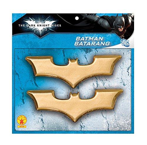 Adam West Batman Costume Arkham Knight (Rubies Costume Co. Officially Licensed Batman The Dark Knight Batarang Toy Prop)