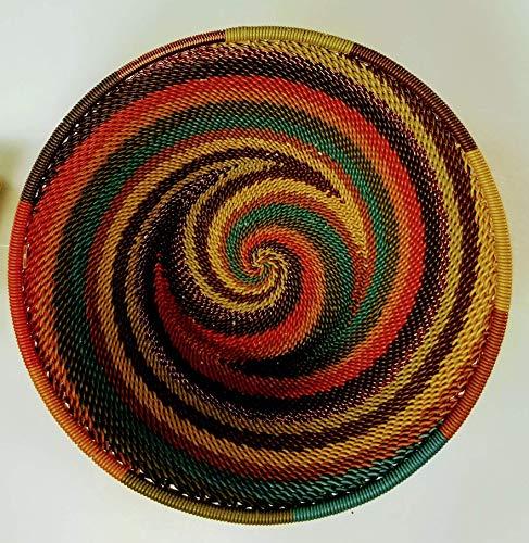 (Fair Trade African Zulu Wire Bowl)