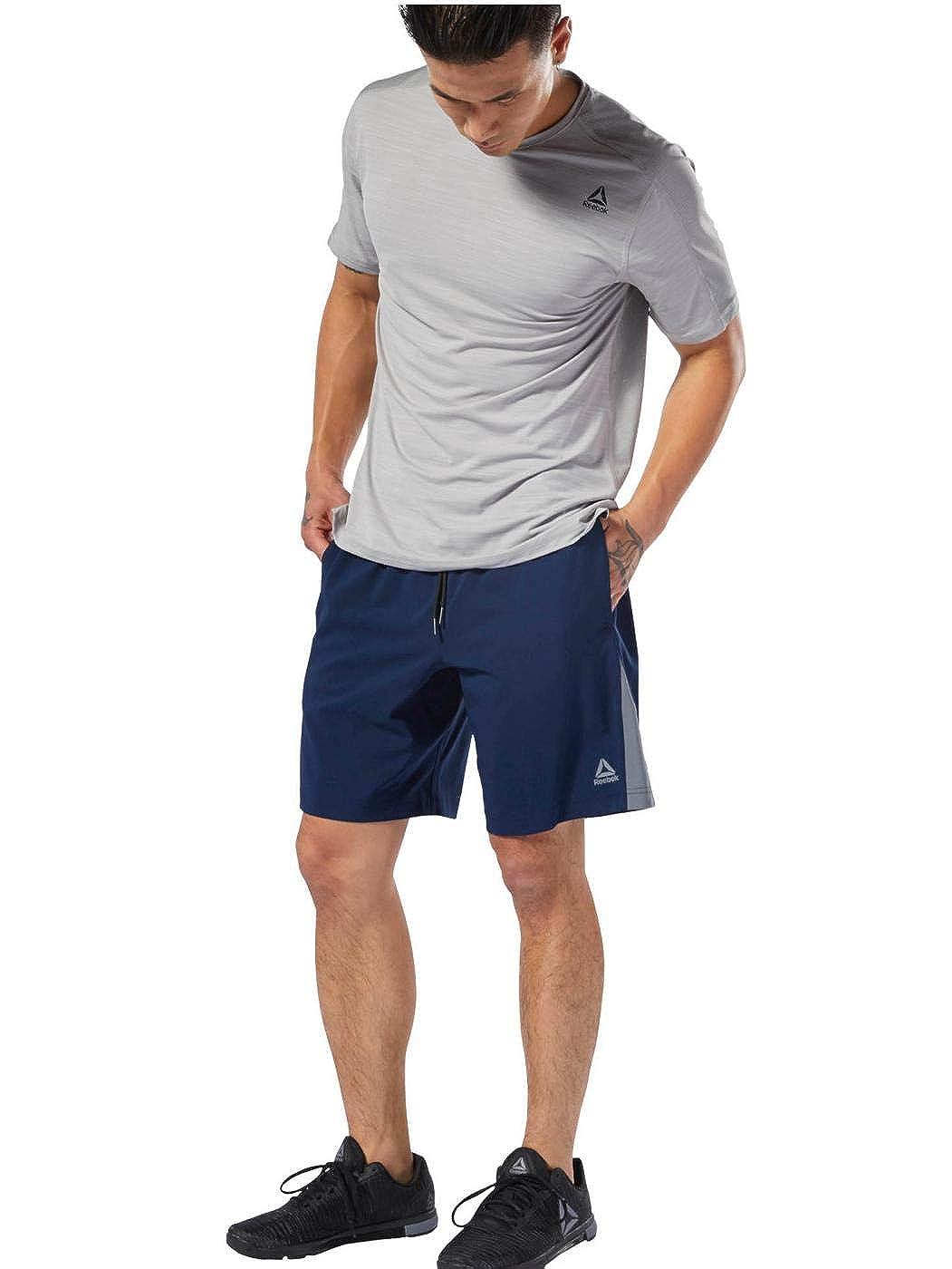 TALLA S. Reebok Wor Woven Short Pantalón Corto, Hombre