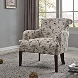 Best Master Furniture Regency Living Room Animal Accent Chair, Medium