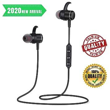 Auriculares deporte Bluetooth Magnético In Ear Incorporado Estéreo ...
