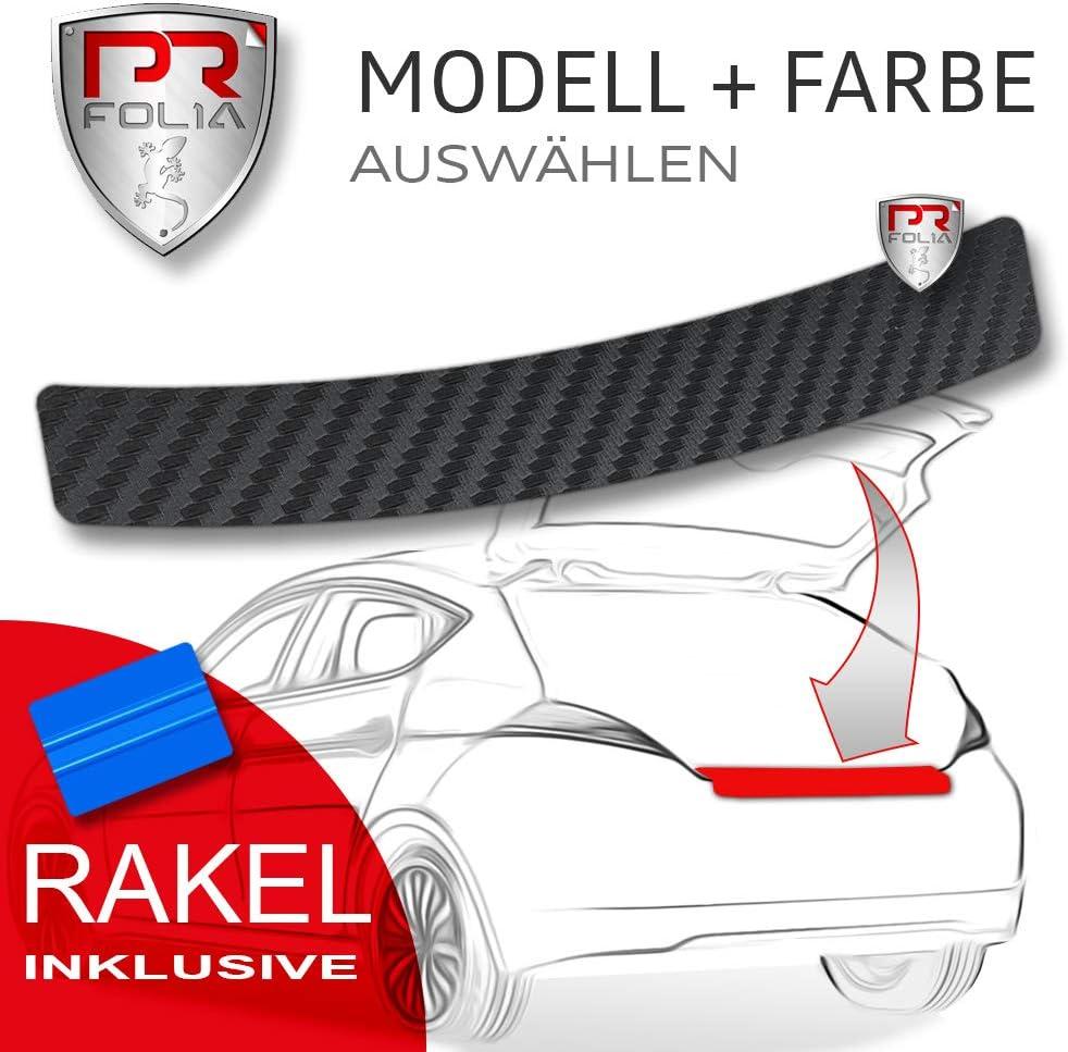Caravelle T6 Multivan Rakel Sto/ßstangenschutz Folie Autofolie CARBON Schutzfolie inkl PR-Folia Ladekantenschutz