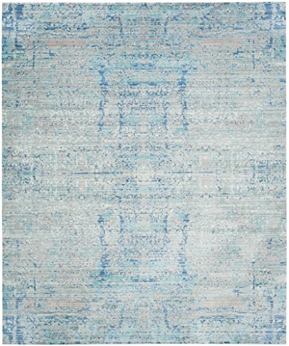 Safavieh Mystique Collection MYS971D Vintage Watercolor Light Blue and Multi Distressed Area Rug (8' x ()