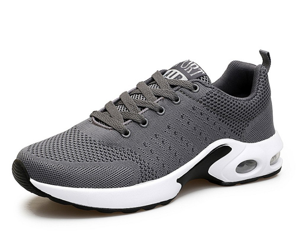 Scennek Casual Casual Sports Shoes Men's Running Walking Breathable Shoes B07CK6ZK2M 5.5M(FEMALE)|Gray