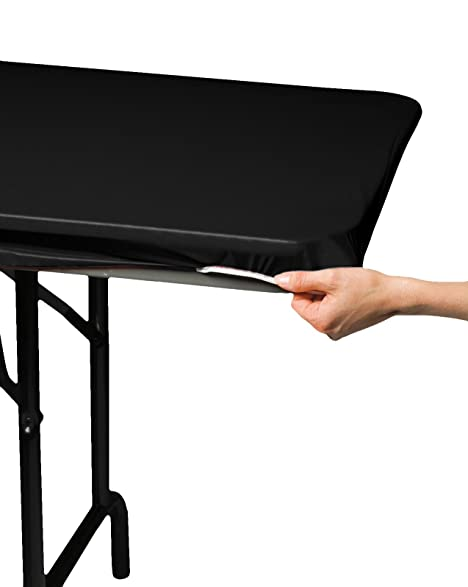 Creative Converting 701000 Stay Put Plastic Table Cover, 29 By 72u0026quot;, ...