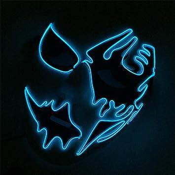 Mascara De Halloween, Luz Fria, Luz Mascara, Baile, Danza De Luz