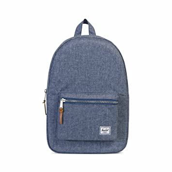 Amazon.com   Herschel Settlement, Dark Chambray Crosshatch   Kids  Backpacks d587b30d26