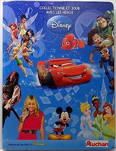 Amazon.fr - Disney - Auchan - Cartamundi - Collectionne et joue avec les héros Disney - classeur complet de ses 185 cartes collector - DISNEY (STUDIO) - ...