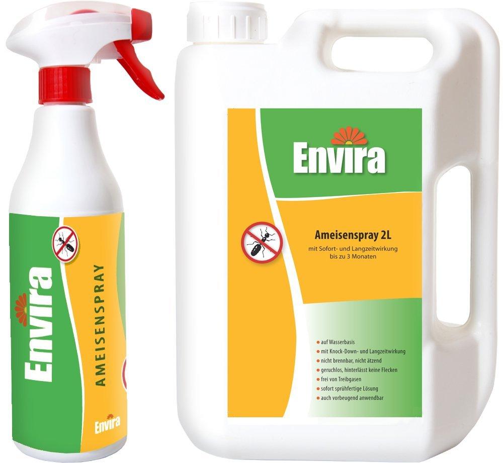 ENVIRA Ameisen-Mittel 500ml und 2Ltr