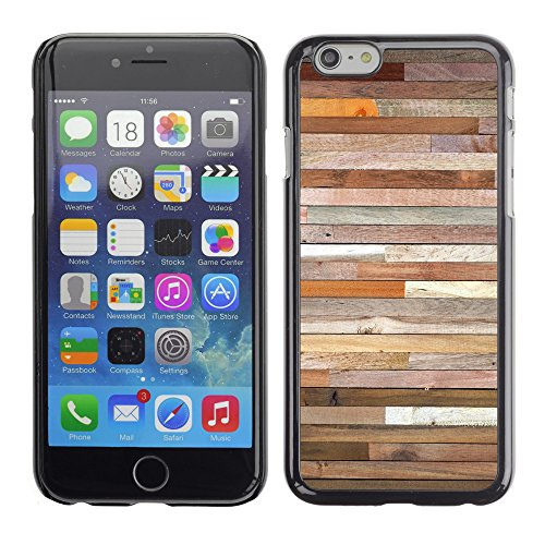 "Hülle Case Schutzhülle Cover Premium Case // V00002425 Holzwand // Apple iPhone 6 6S 6G 4.7"""