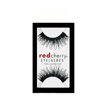 4d2fe377c3a Red Cherry 100% Human Hair Eyelashes #102: Amazon.co.uk: Beauty