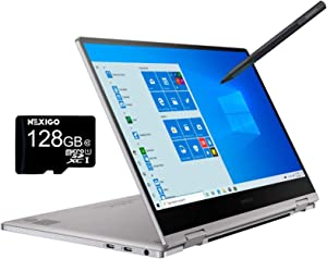 2020 Samsung_Notebook 9 Pro 13 FHD 1080P Touchscreen 2-in-1 Laptop| Intel Core i7-8565U up to 4.6GHz| 8GB RAM| 256GB SSD| FP Reader| Backlit KB| Win 10 + NexiGo 128GB MicroSD Card Bundle