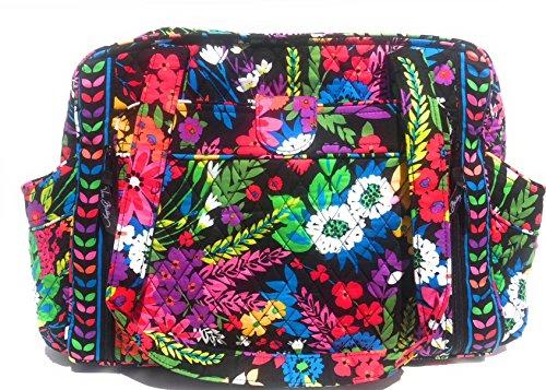 Vera Bradley Make A Change Baby Bag-Field Flowers