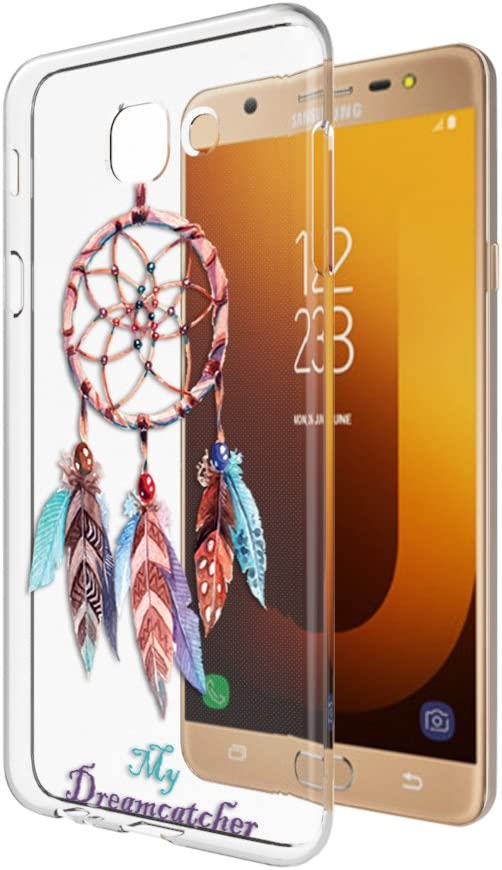 MTT Back Cover for Samsung Galaxy J7 Max and On Max  Transparent  Mobile Phone Cases   Covers
