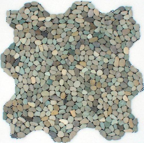 Mini Green Pebble Tile 12x12