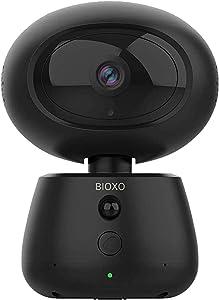 Pet Monitor Camera, Bioxo 1080P HD 2.4G Wireless IP Camera, Night Vision Camera for Dog/Cat/Baby Monitor Home Security Camera Black
