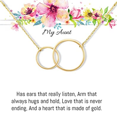 Amazoncom Aunt Gift Personalized Gifts Gifts For Sister