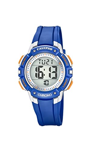 Calypso Reloj Digital para Chicos de Cuarzo con Correa en Plástico K5739/2: Amazon.es: Relojes
