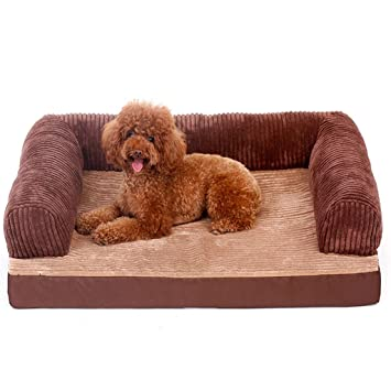 Amazon.com: Cama para perro Labrador perro Sleep Mat grande ...