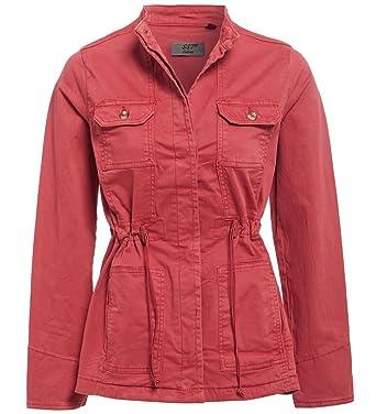 c6587ebcc63 Plus Size 10-32 Womens Trench Coat Ladies Utility Jacket Stone Khaki Navy  Rose