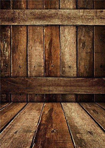 Photo Background For Baby Wooden Floor Photography Backdrops Suitable for Children Art studio Vinyl 5x7FT QX508 (Vintage Baby Pictures)