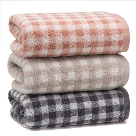 Liujingxue 3 Paquetes de Toalla algodón Lavado Cara hogar algodón ...