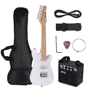 Festnight Muslady - Kit de guitarra eléctrica de arce (28 pulgadas ...