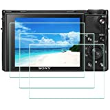 DSC-RX100M7 Screen Protector for Sony RX100 VII Digital Camera,ULBTER 0.3mm 9H Hardness Tempered Glass Cover Anti-Scrach Anti