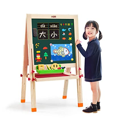 amazon com easels children s children s large drawing board home