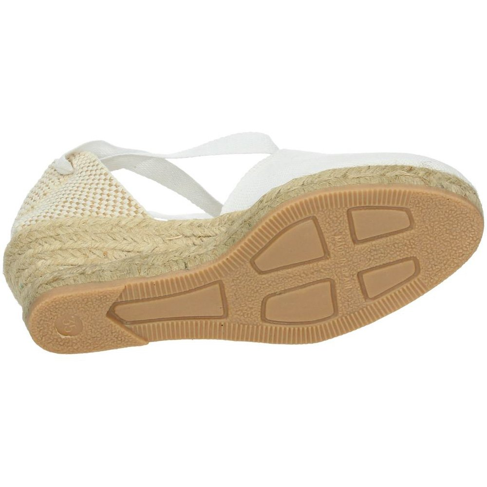 TORRES Valenciana VALENCIANAS Blancas Mujer Alpargatas: Amazon.es: Zapatos y complementos