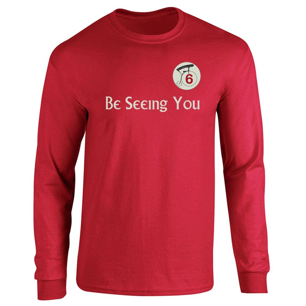 Amazon Be Seeing You Number 6 Cult Long Sleeve T Shirt Clothing