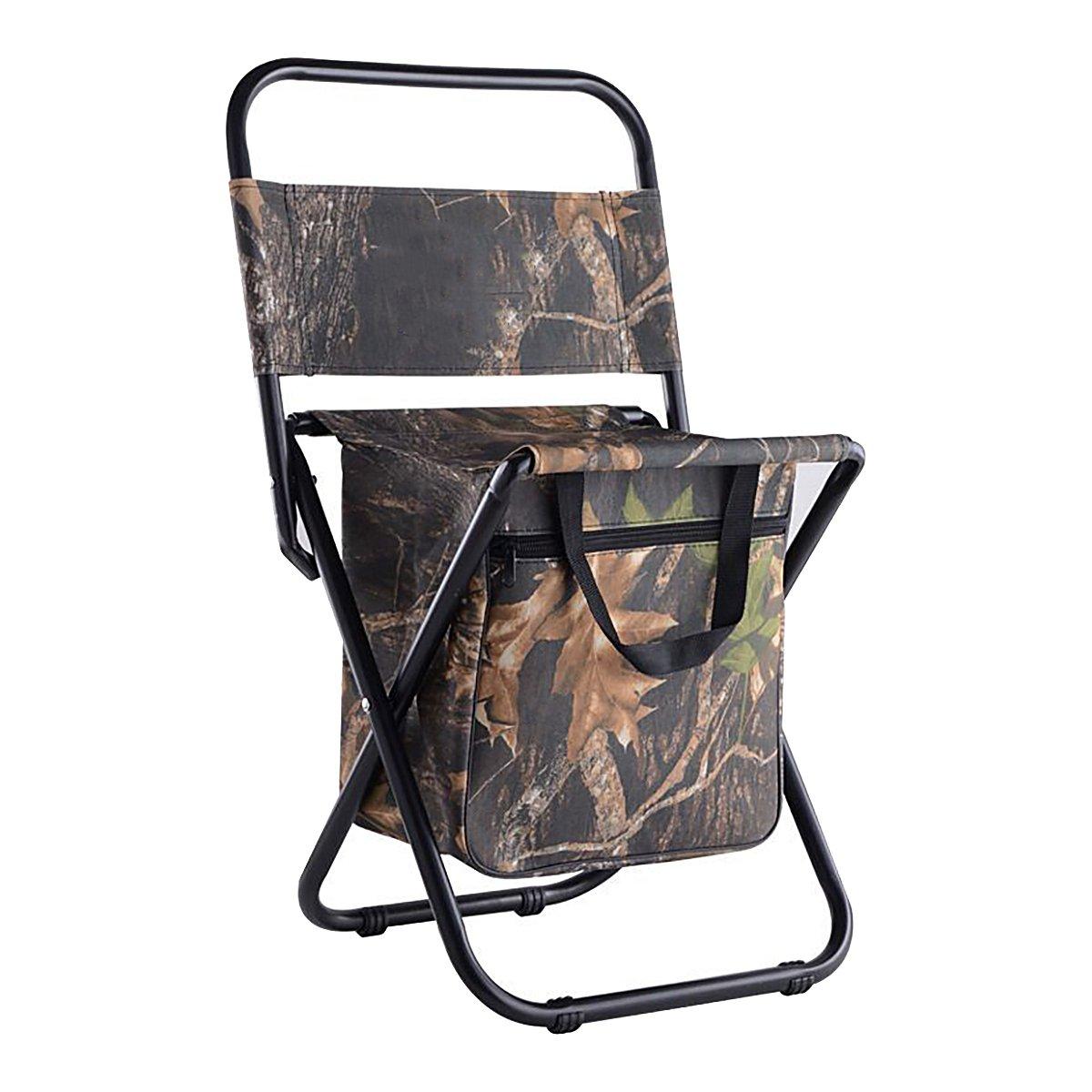 折りたたみキャンプ椅子withストレージポケットハイキング、キャンプ、釣り、ビーチ、屋外の B078MRD8BK メープル メープル