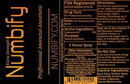 Buy tattoo numbing spray maximum strength