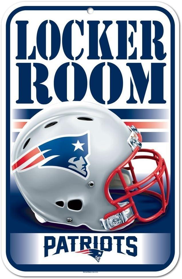 Originales Nfl New England Patriots Schild Tafel In 28x43 Cm Sport Freizeit