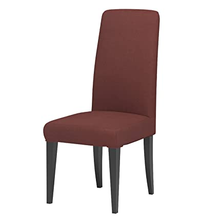 Amazon.com: Knit Spandex Fabric Stretch Dining Room Chair Slipcovers ...