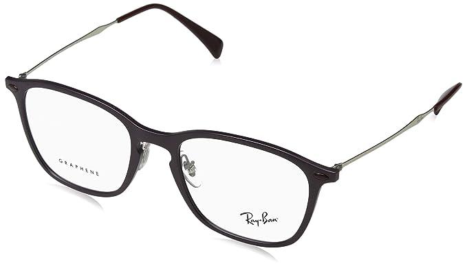 7dd78dbab4 Ray-Ban Unisex Adults  0RX 8955 8031 53 Optical Frames