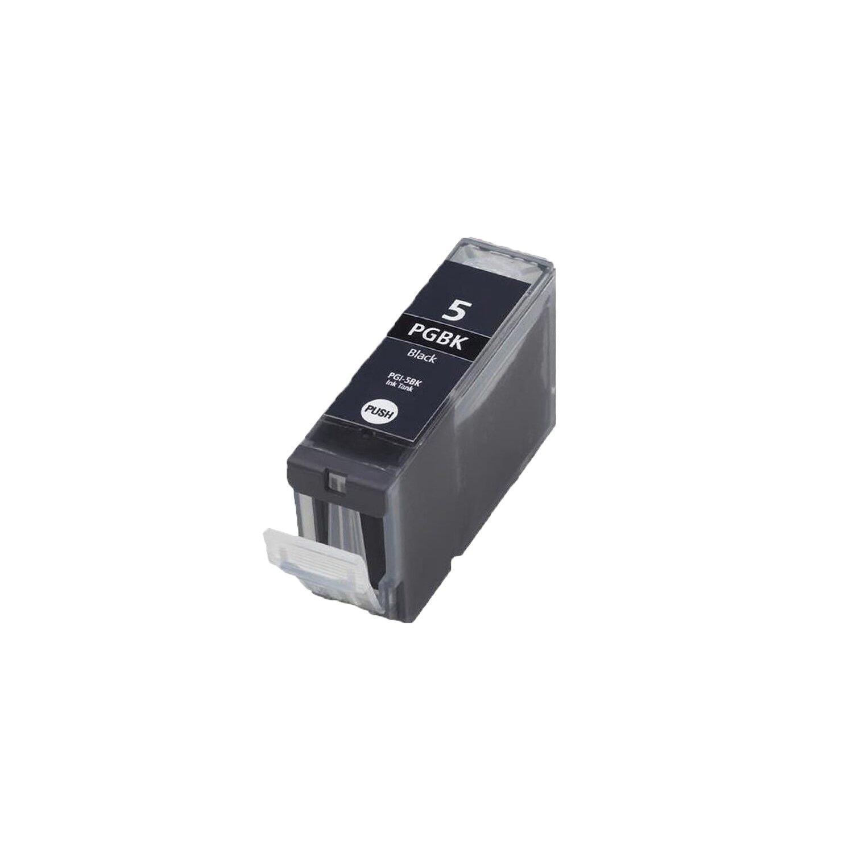 1 Chippedブラック互換インクカートリッジ大容量pgi-5bk for Canon Pixma mx700プリンタ B06XVF2H7F
