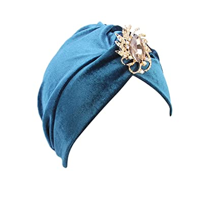 c399a4131f8 Image Unavailable. Image not available for. Color  Woman Turban Hat