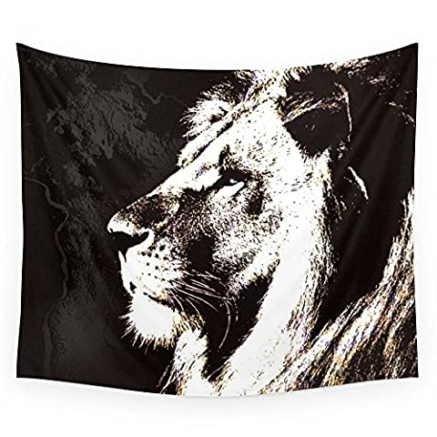 Society6 African Lion Wall Tapestry Small: 51