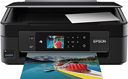 Epson Expression Home Xp 422 All In One Printer With Wifi Direct And 6 4 Cm Lcd Screen And Iprint Print Scan Copy Previous Model Amazon Co Uk Computers Accessories