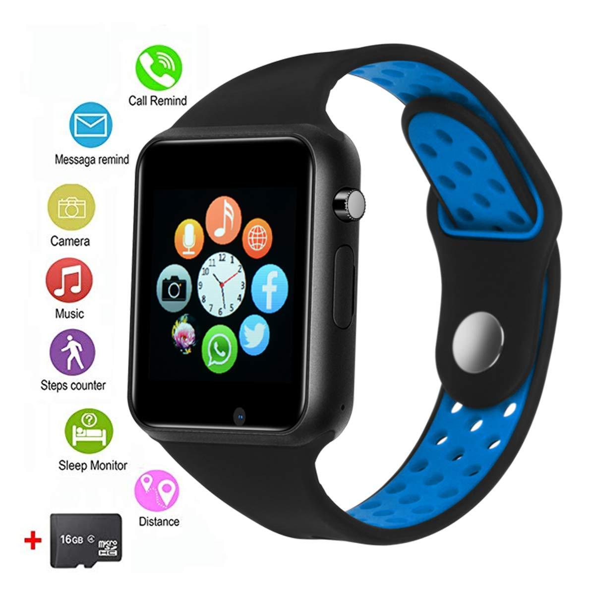 Smartwach, JACSSO Smart Watch Men Women, Bluetooth Smart Watches Phone Compatible Android Phones