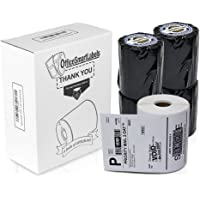 "Dymo Compatible 1744907-4"" x 6"" 4XL Internet Postage Shipping Labels (4 Rolls - 220 Labels Per Roll)"
