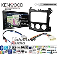 Volunteer Audio Kenwood DNX574S Double Din Radio Install Kit with GPS Navigation Apple CarPlay Android Auto Fits 2009-2016 Nissan 370Z