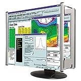 Kantek MAG15L LCD Monitor Magnifier Filter, Fits 15-Inch LCD Screen (Black/Silver)