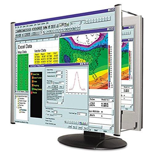Kantek Adjustable Monitor - Kantek LCD Monitor Magnifier Filter, Fits 15-Inch LCD Screens Measured Diagonally (MAG15L)