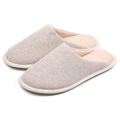 Amazon.com | Caramella Bubble Women's Comfort Memory Foam Slip On Slippers Soft Breathable House Shoes | Slippers
