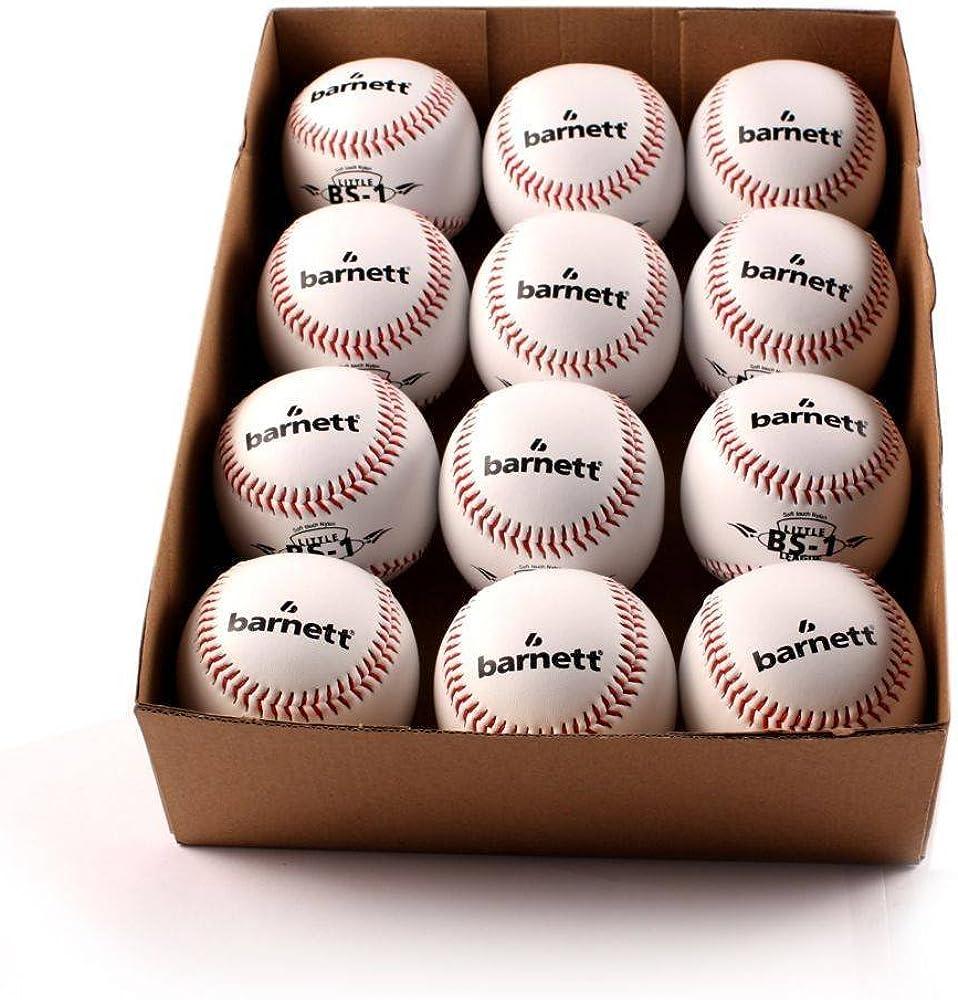 Entrenamiento BS-1 pelota de baseball, tamaño 22,86 cm, blanco, 1 ...